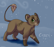 Casta - Art Trade with Kamirah by Blueyblob
