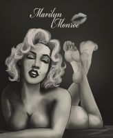 Marilyn Monroe by Bigfootfantasies