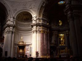 Berlin Cathedral 03 - inside by Axy-stock