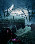 Graveyard Girl. by TheChimeraDoll