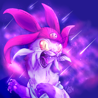 Space Cat is mad by BritishStarr