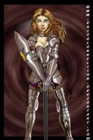 Buffy The Paladin by ericalannelson