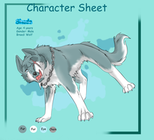 Character sheet4 - Shade by Frodse
