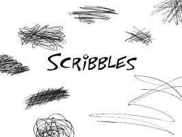 Scribbles Brushes by GrimStock