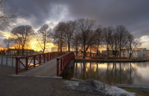 An Evening in City Park V by HenrikSundholm