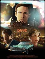 Drive-Movie Poster. by thedarkinker