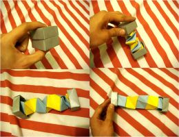 Origami Four ? Dimensional Box by silent-anton123