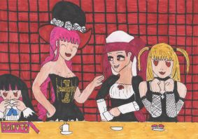 Gothic Brunch by DelphiniumFleur