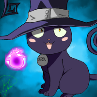 SE Blair in Cat form by mudkipkid