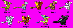 My Scribblenauts Dragons by Neffertity