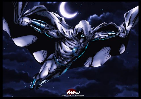Moon Knight by M4W006