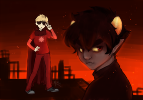 [homestuck] we're never going to stop by kappakeki