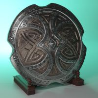 Skyforge Shield by schaten