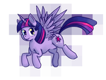 Alicorn Twilight Sparkle by FeatheredSoap
