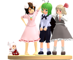 MMD Trophy: Nya models by Rea-Usax