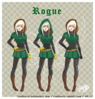 Design - Rogue by riotfaerie