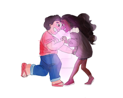 it's stevonnie time!! by BlueNargles
