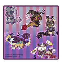 :Plush Designs Up for Auction(closed): by PrePAWSterous