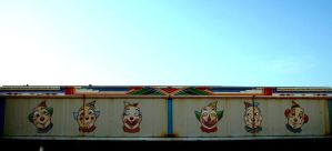 clowns by jeffreyverity