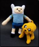 Adventure Time with Finn+Jake by BunnieBard