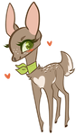 Dainty Legs // Berry Fawn Chibi by catbae