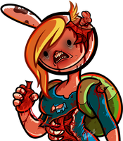 Dead Fiona From Adventure Time With Fiona and Cake by Dragoart