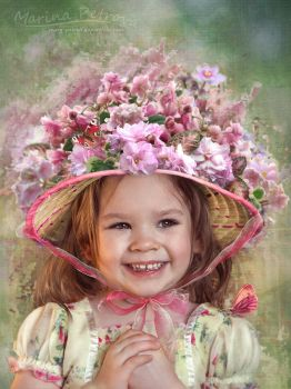 Spring portrait by mary-petroff