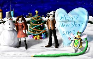 Drawing on new year 2013-full version by 247950