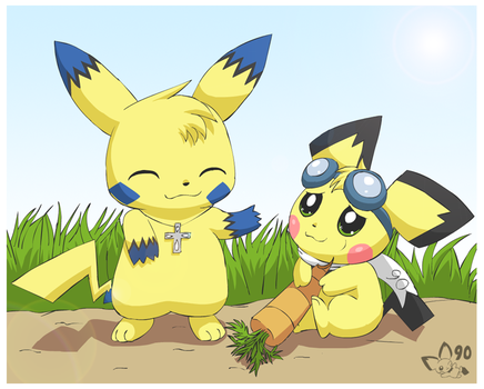 Eat Your Veggies by pichu90