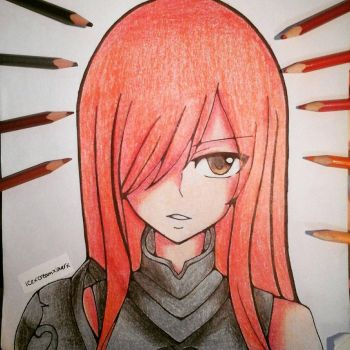 Erza Scarlet by icecreamlover2003