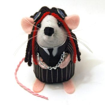 Sebastian the Steampunk Mouse by The-House-of-Mouse