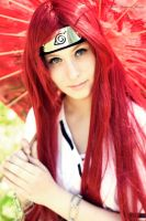 Cosplay - Kushina Uzumaki by HayashiRei
