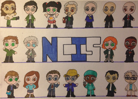NCIS Characters by LoadsOfRandomness