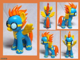 Spitfire Custom Toy by CadmiumCrab