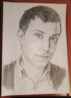 Frank Iero by helenanchovy