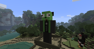 GIR Statue - Minecraft :D by Trilf