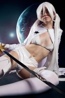 White Rock Shooter Cosplay 3 by andrewhitc