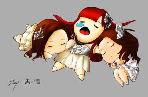 Chibi Kalafina: After the Live by KuroiYuki88
