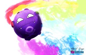 Koffing Pride by iHeartManipulations