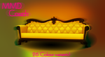 MMD Couch 26 Variants DL by RebelDollX