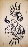The twisted Gryphon 1 by liskie3100