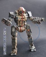 Mechwarrior Online Commando 1/60 model by smtkelly
