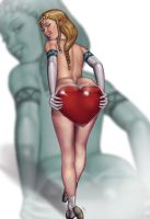 Zelda's Got a Heart Container for Link: Full by umbrafox