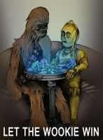 Let the Wookie Win... by JeffyP