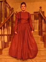 Little Women: Meg red dress by Charis