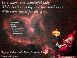 Frankie Foster 2007 Valentine by Cassini90125