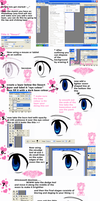 Easy Eye Tutorial +For Rookies by Sesshomarus-woman