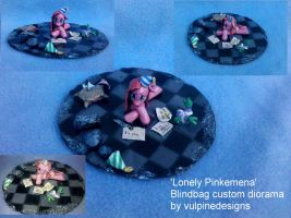MLP Fim custom diorama: Lonely Pinkamena. by vulpinedesigns