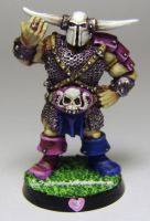 BLOOD BOWL Chaos Warrior by FraterSINISTER