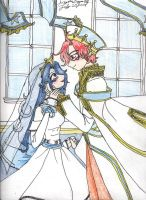 Elice and Roy's wedding bells by AngelicDragonElf